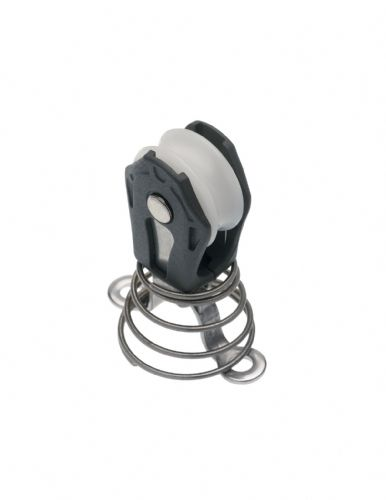 Barton Marine Stand Up Block with Spring and Deck Eye 5mm Rope 00170